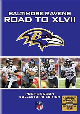 NFL BALTIMORE RAVENS:ROAD TO XLVII (DVD)